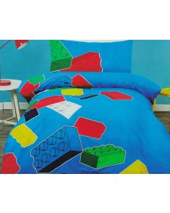 Lego Blocks Quilt Cover Set