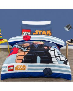 Lego Star Wars Lightsaber Quilt Cover Set