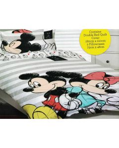 Mickey & Minnie Quilt Cover Set