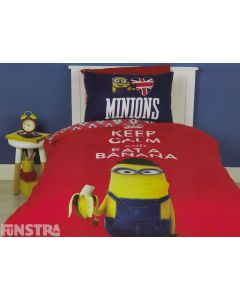 Minions Keep Calm Quilt Cover Set