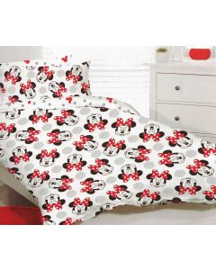 Happy Minnie Quilt Cover Set