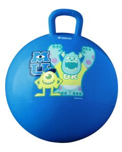 Join Sully and Mike for some bouncy fun on the Monsters University space hopper ball.