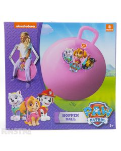 Bounce into action to save the day with Skye, Everest and Chase with this pink space hopper ball, perfect for girls that love the mighty pups.