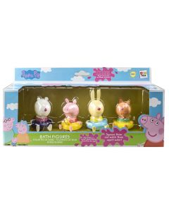 Peppa Pig Bath Figures Friends