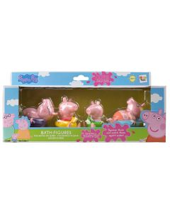 Peppa Pig Bath Figures Family