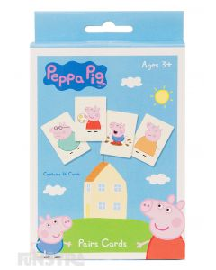 Peppa Pig Pairs Card Game