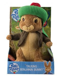 Benjamin Bunny Talking Plush Toy