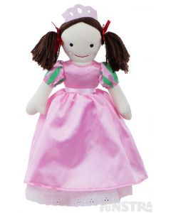 Create your own fairtale with the Princess Jemima doll, dressed in her beauitful ballroom gown costume and tiara.