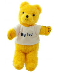 There's a bear in there! ...it's Big Ted from Play School.