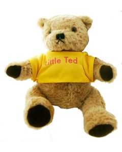 There's a bear in there! ...it's Little Ted from Play School.