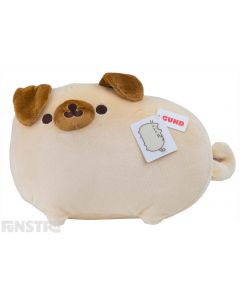 How adorable is Pugsheen?! Pusheen's canine alter-ego is now available as the cutest plush toy featuring a curly tail and bendy poseable ears.