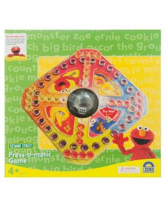 Sesame Street Press-O-Matic Board Game