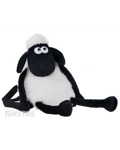A cuddly backpack of Shaun the Sheep that will put a smile on the face of any fan of the family favorite character of the barnyard.