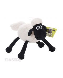 Pull Shaun's tail and watch as this interactive plushy toy shivers and vibrates that's sure to offer plenty of laughter, fun and entertainment.