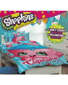 Shopkins Quilt Cover Set