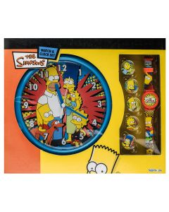 The Simpsons Watch and Clock Set