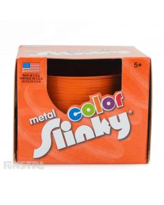 Metal Color Slinky Toy Orange