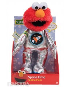 Space Elmo Talking Plush Toy