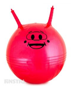 A heavy duty space hopper with handles that's great fun for girls and boys to encourage physical activity and an active and healthy lifestyle.