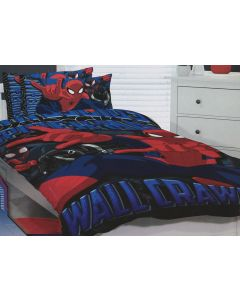 Spider-Man Wall Crawler Quilt Cover Set