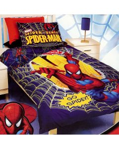 Spider-Man Quilt Cover Set