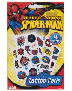 Spider-Man Tattoo Pack