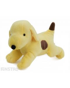 Spot the Dog is not only soft and cuddly, but barks with glee. Children that love the Eric Hill children's book collection of Spot will adore this Spot interactive talking stuffed animal toy.
