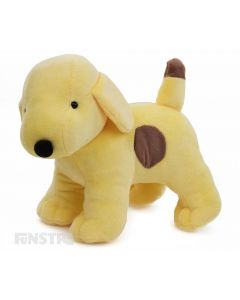 A classic cartoon character of childhood, Spot the Dog teaches toddlers and pre-schoolers about new experiences through friendship and play and this standing plushy is the perfect companion for fans of the iconic puppy dog.