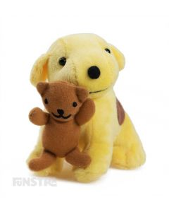 Spot loves to play with his teddy bear and this fun mini beanie plush toy is a wonderful companion for children to read the story books or watch the TV shows of Spot's adventures.