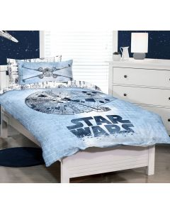 Star Wars Millennium Falcon Quilt Cover Set