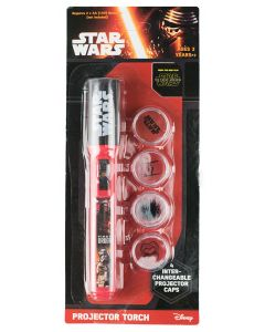 Star Wars Projector Torch Red
