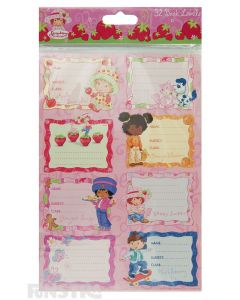 Strawberry Shortcake Stickers Book Labels