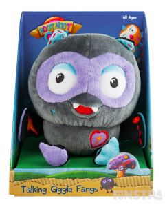 Talking Giggle Fangs Plush Toy