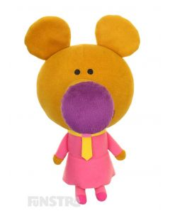 Norrie is a chatty, silly and fast moving mouse and the talking plush toy is the perfect companion anyone that loves to watch Duggee and the squirrels.