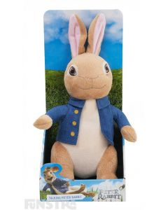 Talking Peter Rabbit Plush Soft Toy