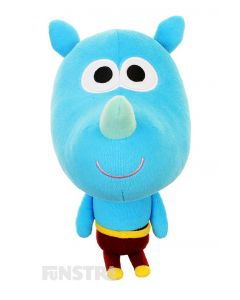 Tag is sweet-natured rhino with thick skin and the talking plush toy is the perfect companion anyone that loves to watch Duggee and the squirrels.