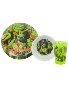 Teenage Mutant Ninja Turtles Dinner Set
