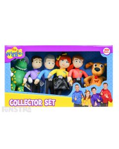 The Wiggles Mini Plush Doll Collector Set