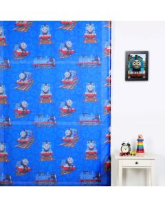 Thomas and Friends Sheer Curtain
