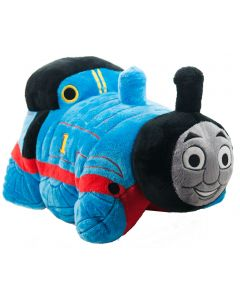 Snuggle and cuddle with the number one blue engine on a railway tracks with this adorable Thomas pillow pet.