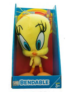 Tweety Bird Bendable Plush Toy