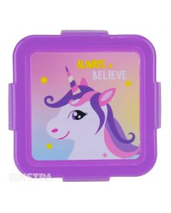 'Always Believe' unicorn snack box