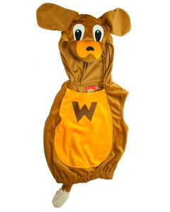 Sing, dance and shake your hips with Wags the Dog as you dress up as the popular mascot of the Wiggles, a tall, brown, dancing dog with floppy ears. 'Wags The Dog, he likes to Tango!'