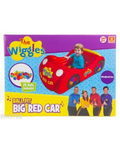 'Toot toot, chugga chugga, Big Red Car! We'll travel near and we'll travel far! Toot toot, chugga chugga, Big Red Car! We're gonna ride the whole day long!'