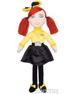 It's the yellow Wiggle, the girl with the bow in her hair! The Emma rag doll is perfect for fans of the yellow Wiggle!