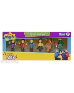 Action figure pack is boxed and makes a great gift for little fans of the Australian children's music group.