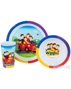 The Wiggles Dinner Set