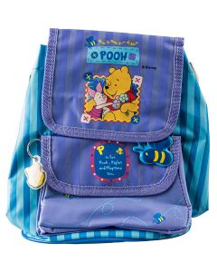 'P is for Pooh, Piglet and Playtime too...' Super cute design features Piglet and Pooh's friendship on this mini backpack.