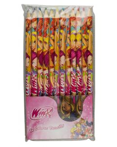 Winx Club Colour Pencils