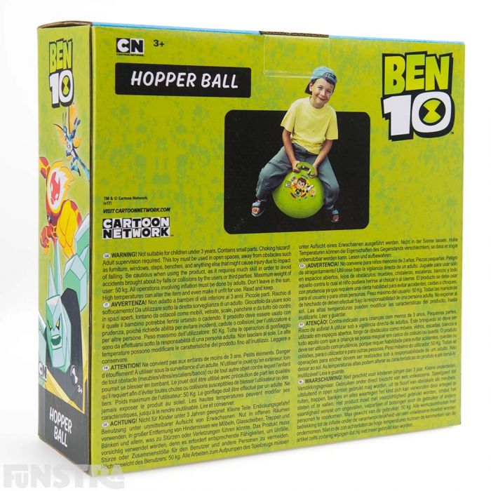 Perfect for any child that loves superhero Ben 10 and the alien force to encourage physical activity.